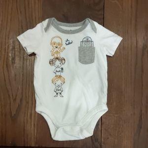 BabyGap Star Wars Graphic onesie